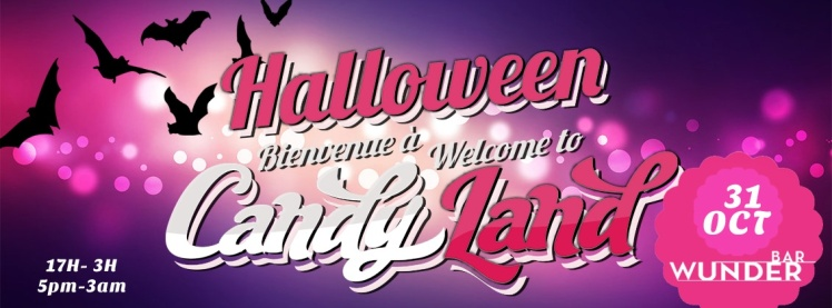 Halloween Welcome To Candyland
