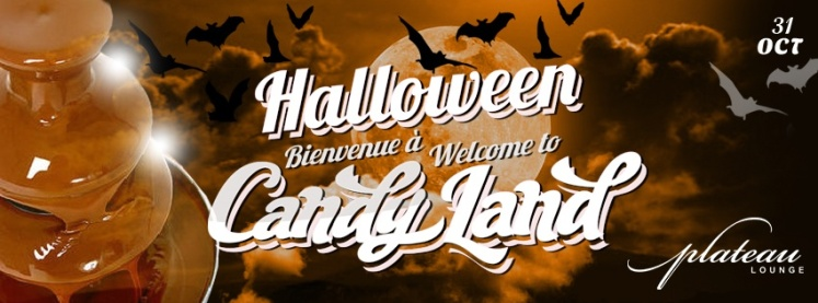 Halloween a Welcome To Candyland