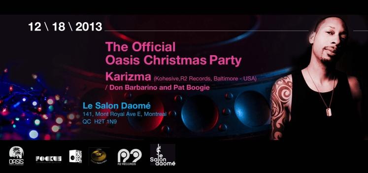 Oasis Official Christmas Party Karzima