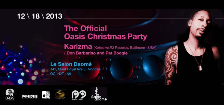 Oasis Official Christmas Party Karzima