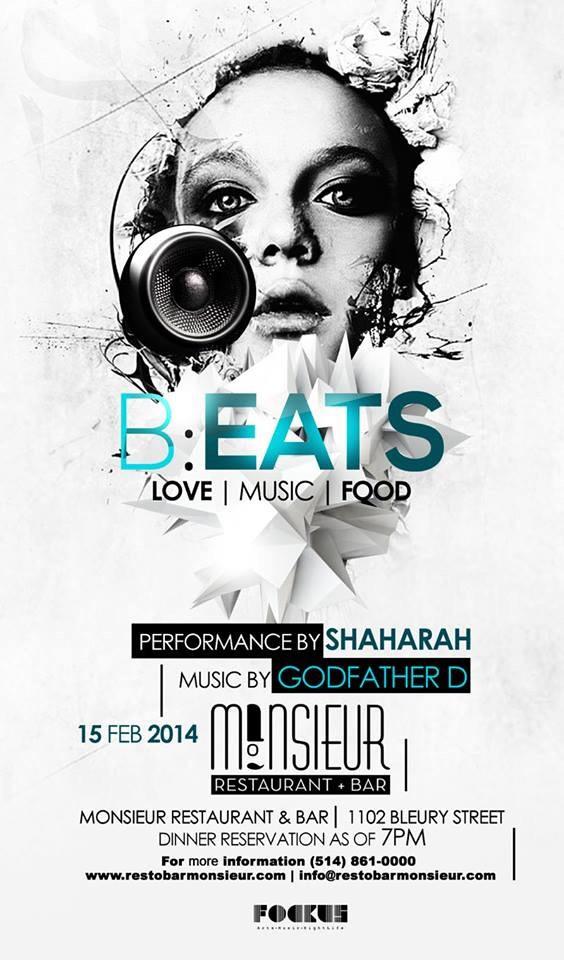 B : E A T S Love Music Food