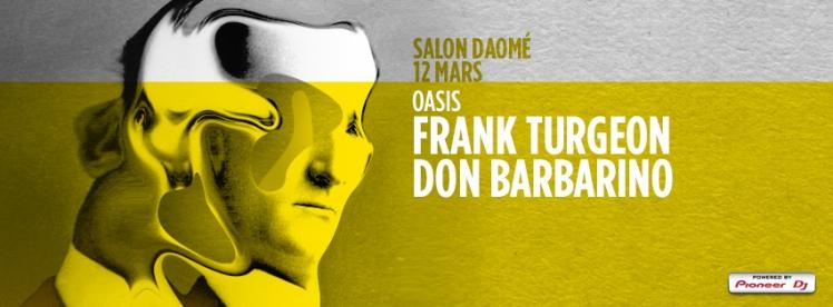 oasis wednesdays Frank Turgeon Don Barbarino