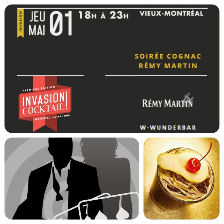Invasion Cocktail Montreal Wunderbar W Hotel