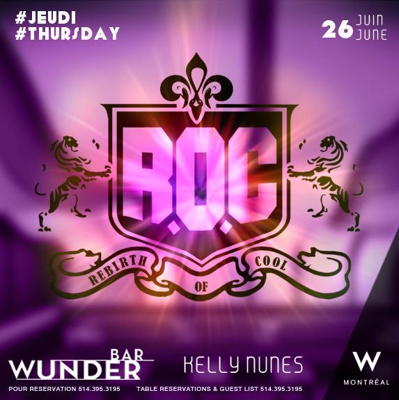 Rebirth of Cool Wunderbar W Hotel Kelly Nunes