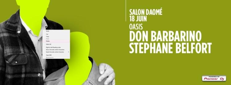 Steph Belfort x Don Barbarino