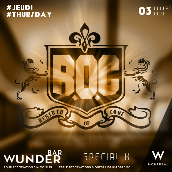 Rebirth of Cool Wunderbar W Hotel Dj Special K