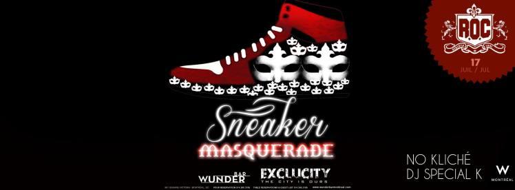 Rebirth of Cool Sneaker Masquerade Wunderbar W Hotel Dj Special K