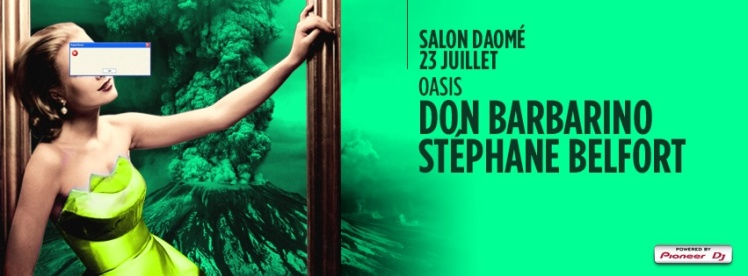 Oasis Wednesdays @ Salon Daome Don Barbarino Steph Belfort