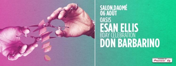 Oasis Wednesdays Salon Daome