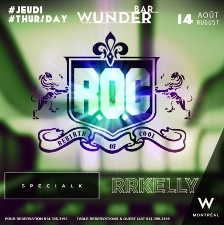 Rebirth of Cool @ Wunderbar W Hotel