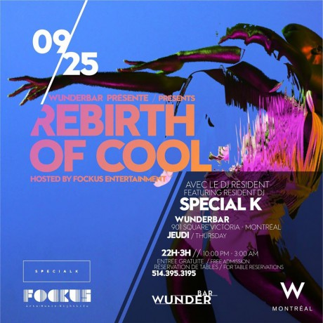 Rebirth of Cool Wunerbar W Hotel