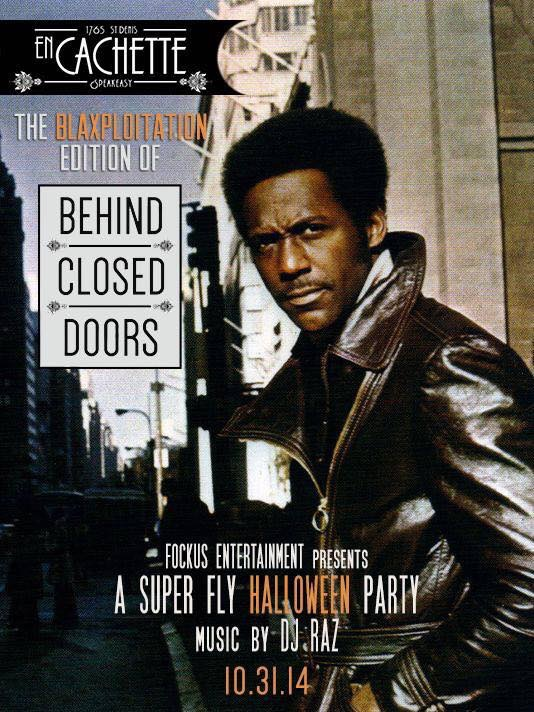 Behind Closed Doors - Super Fly Halloween Party