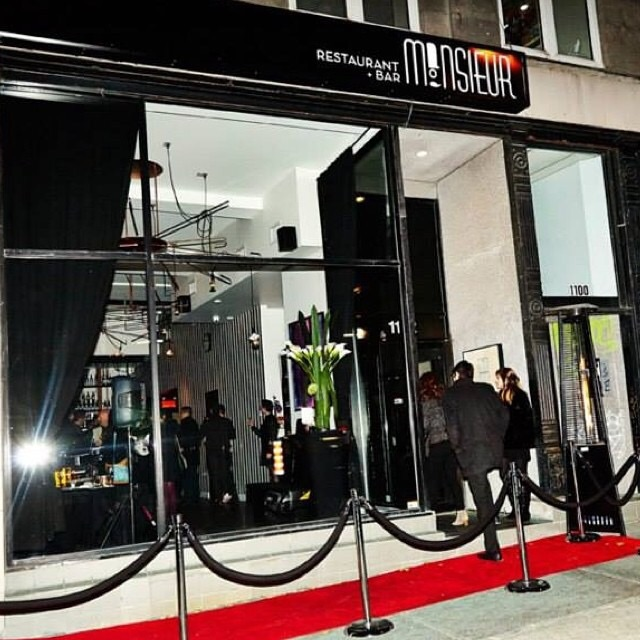 Monsieur Restaurant + Bar