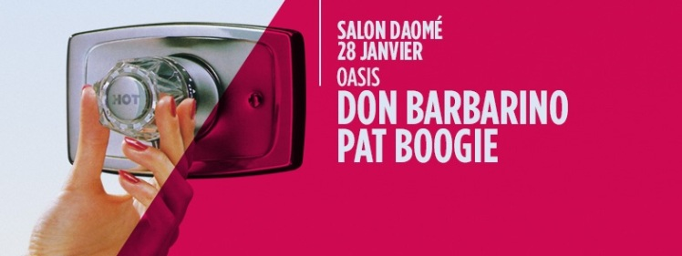 Oasis Wednesdays Pat Boogie Don Barbarino