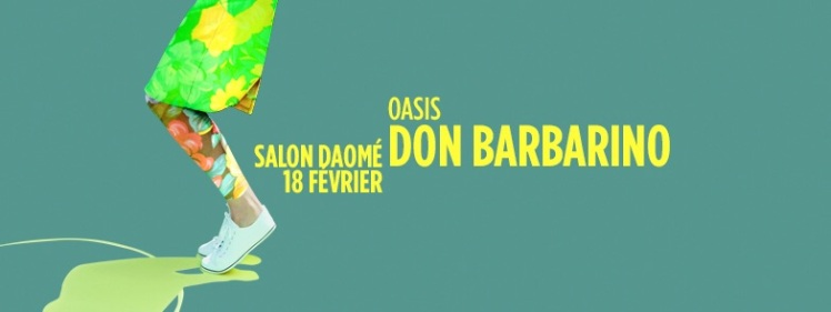 Oasis Wednesdays Don Barbarino