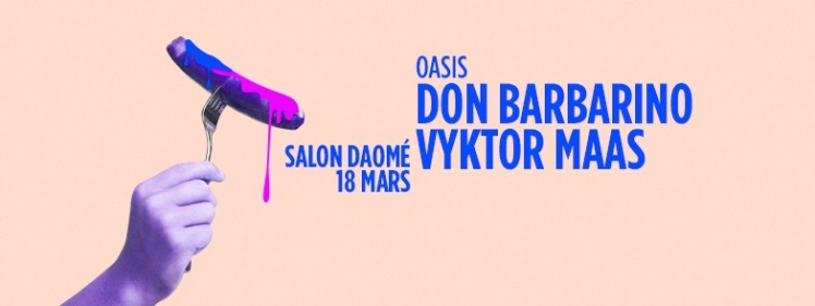 Oasis Wednesdays Vyktor Maas Don Barbarino