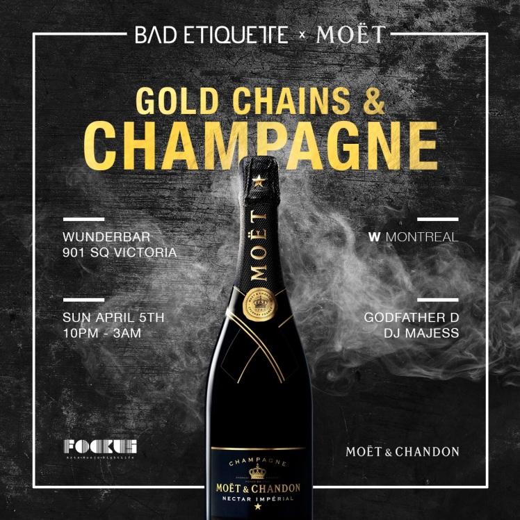 Gold Chains & Champagne Bad Etiquette Wunderbar W Hotel
