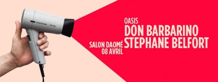 Oasis Wednesdays Salon Daomé