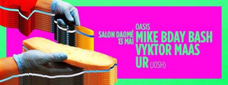 Oasis Wednesdays Birthday Bash Mike Steven Vyktor Maas Josh Thomas