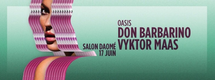 Oasis Wednesdays Vyktor Maas Don Barbarino