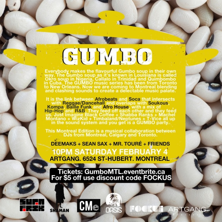 GUMBO Return to Montreal