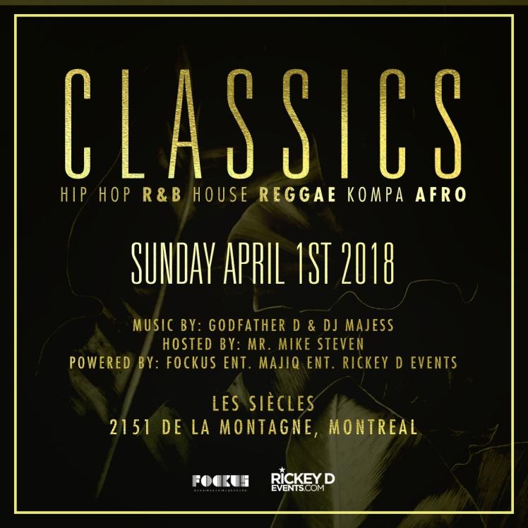 CLASSICS Les Siècles Montreal Godfather D Majess