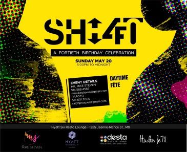 SHIFT 4.0 Birthday Celebration Hyatt Montreal